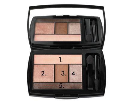 Lancome: 5 steps makeup