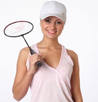 Woman in Baseball Cap