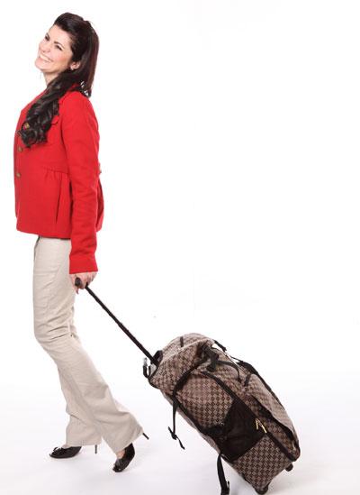 Woman, trips