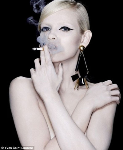 Advertising of YSL Cigarettes