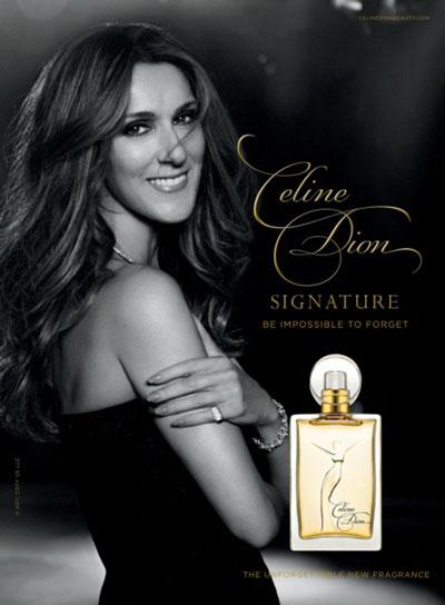 Perfume Celine Dion Signature