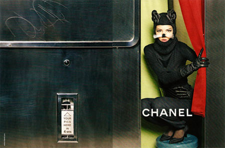 Freja Beha Erichsen for Chanel ad