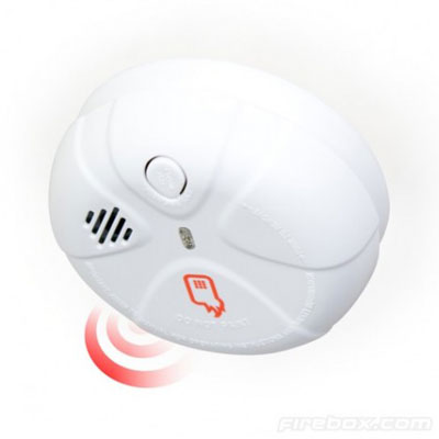 Smoke Alarm SMS Notification build in