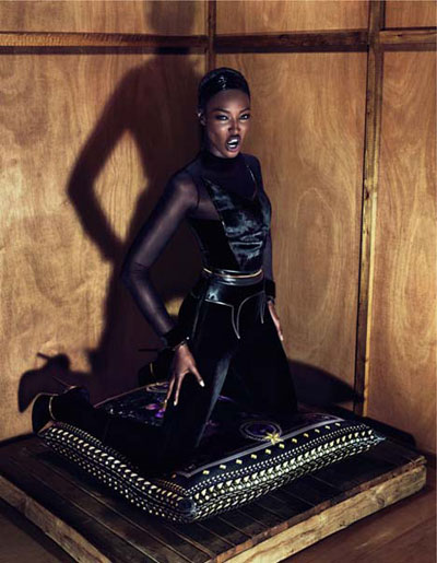 Naomi Campbell for Givenchy