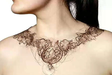 Hair Necklaces by Kerry Howley