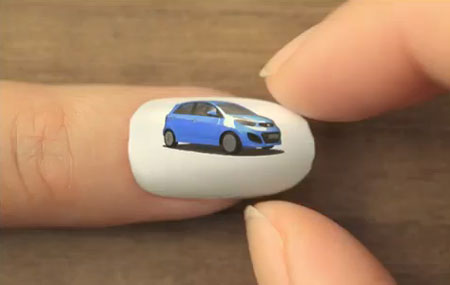 Nail Animation for KIA Picanto