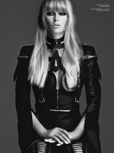 Paris Hilton for V Magazine Transformation