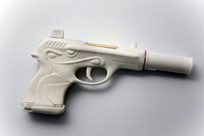 Dior 001 Gun by Ted Noten