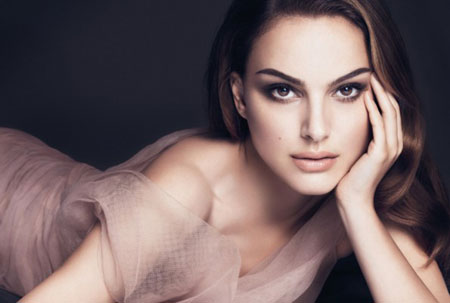 Natalie Portman for Dior in Diorskin Ad