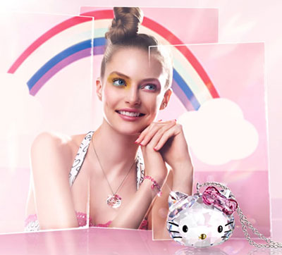 Hello Kitty Accessories with Swarovski Crystals