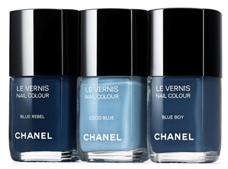 Blue Enamels by Chanel