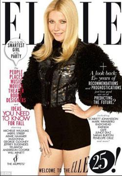 Gwyneth Paltrow for Elle