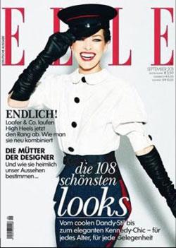 Milla Jovovich for Elle
