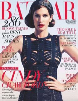 Cindy Crawford for Harper's Bazaar