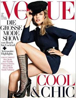 Natalia Vodianova for Vogue