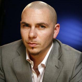 Rapper Pitbull