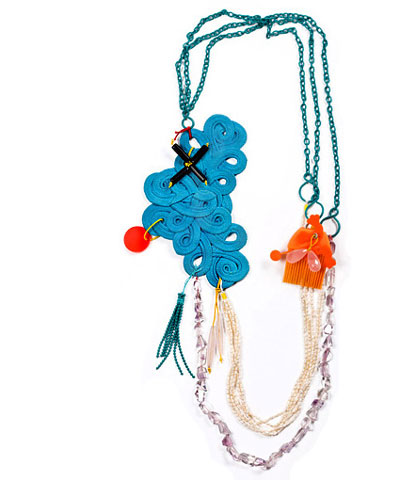 Plastic Jewelry Collection by Denise Julia Reytan