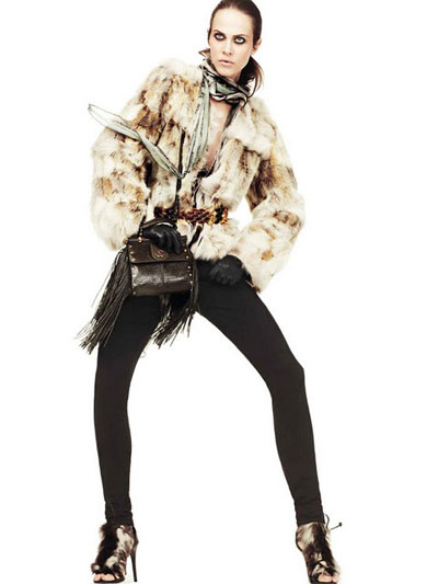 FW 2011-2012 Collection by Roberto Cavalli