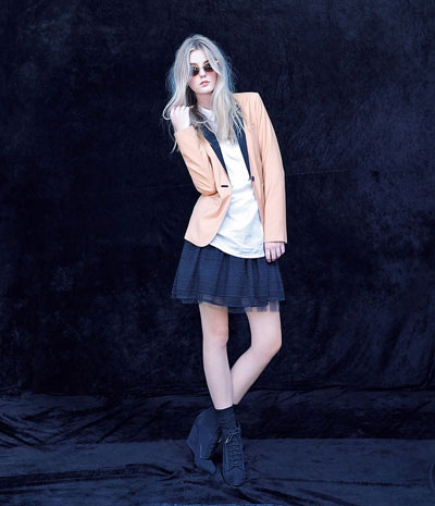 Bershka Women's collection Lookbook 2011