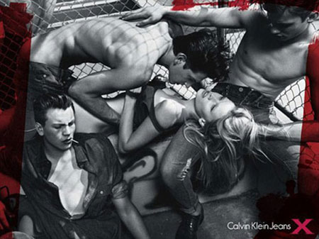 Banned Ads Calvin Klein Jeans