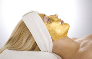 Expensive Beauty Procedures: Gold Facials