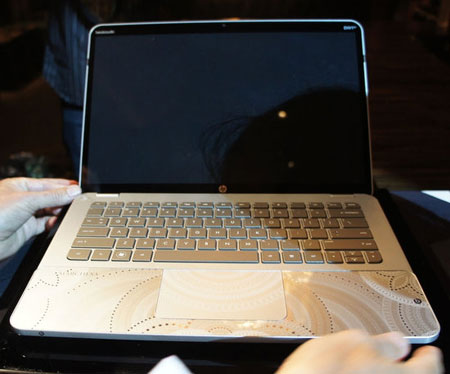 HP Marchesa laptops with Swarovski crystals