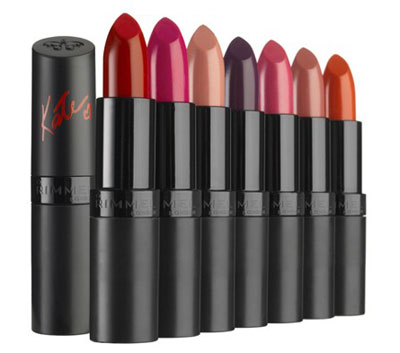 Kate Moss Rimmel Lipstick Collection