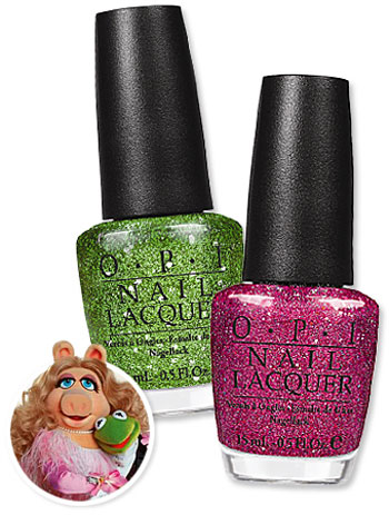 OPI Nail Polishes for Muppets