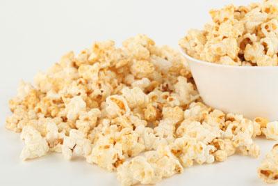 Plate of Popcorn