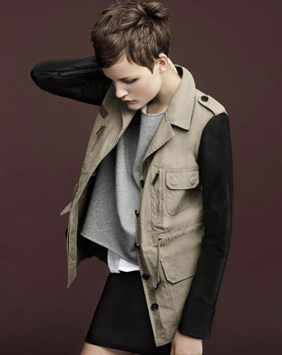 Nina Porter Zara Lookbook 2011