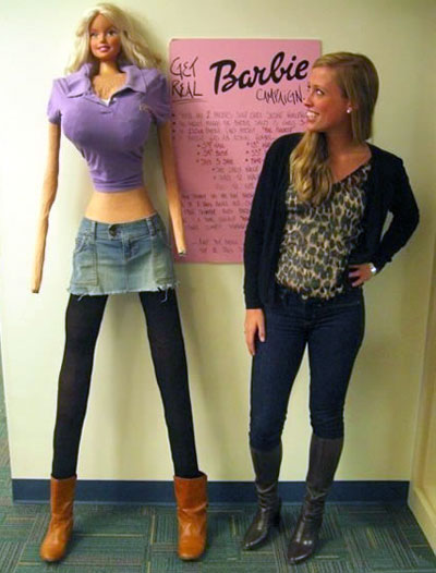Barbie Adult Person Peoportions