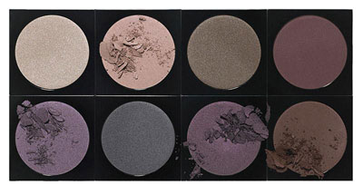 Bobbi Brown Makeup Collection, eyeshadows