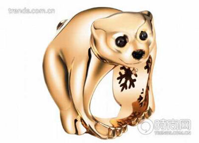 Bear by Chopard - pink gold