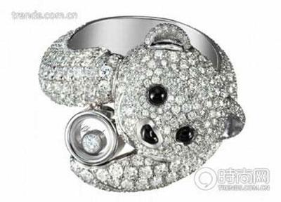 Bear by Chopard Jewelry with diamonds