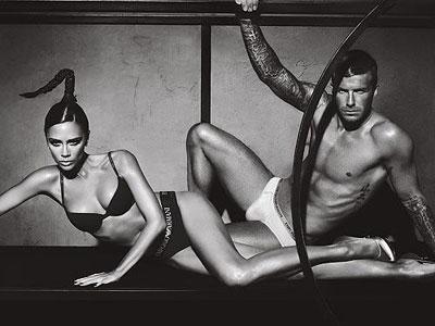 David and Victoria Beckham Hottest Celebs Couple
