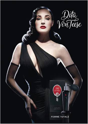 New fragrance by Dita Von Teese