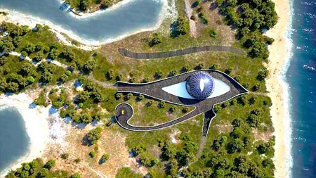 Eye of Horus gift for Naomi Campbell