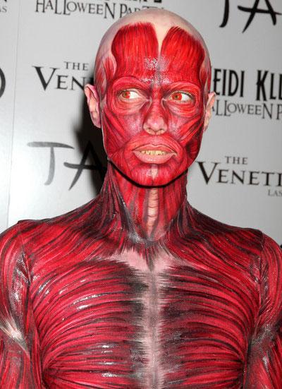 Heidi Klum Halloween Bodysuit