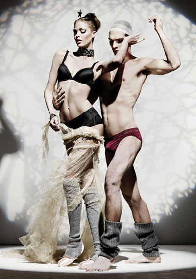 John Galliano Fall-Winter 2011-2012 Lingerie