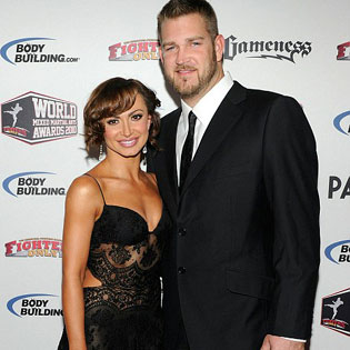 Karina Smirnoff and Brad Penny