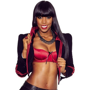Kelly Rowland shows breasts