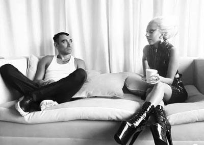 Lady Gaga in MAC Viva Glam