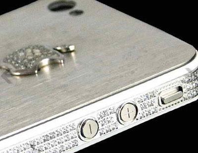 iPhone 4S Diamond and Platinum by Jo-Emma Larvin