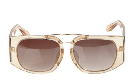 Mink Fur Sunglasses by Alexander Wang