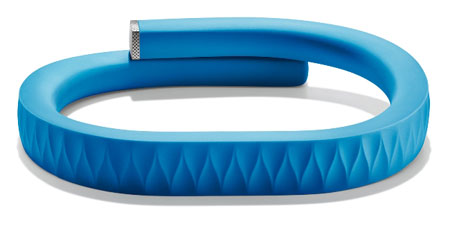 Up iPhone to Monitor health by Jawbone