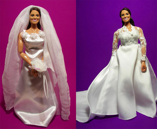 Doll Kate Middleton by Hero Builder