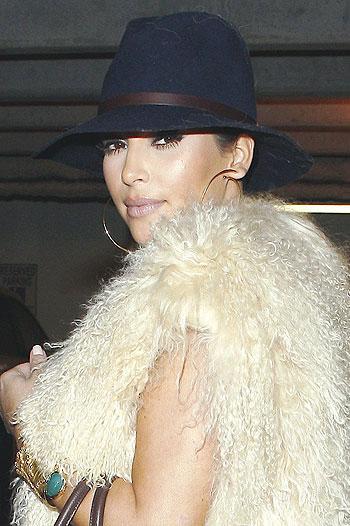 Kim Kardashian loves furs