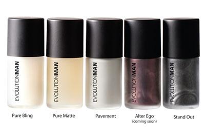 Evolution Man - Nail polishes for men