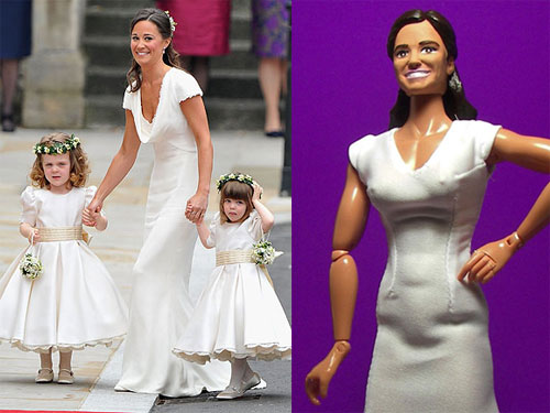 Hero Builders Doll of Pippa Middleton