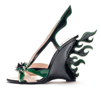 Prada shoes spring-summer 2012